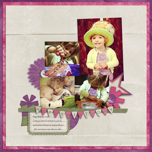 Birthday Bash By Twin Mom Scraps Heidis Digital Scrapbook