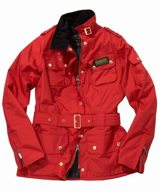 55064eddfb97b Womens Barbour Rainbow International Jacket- Red   Barbour ...