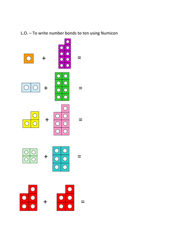 Number bonds to 10 numicon worksheet child development pinterest number bonds to 10 numicon worksheet ibookread Download