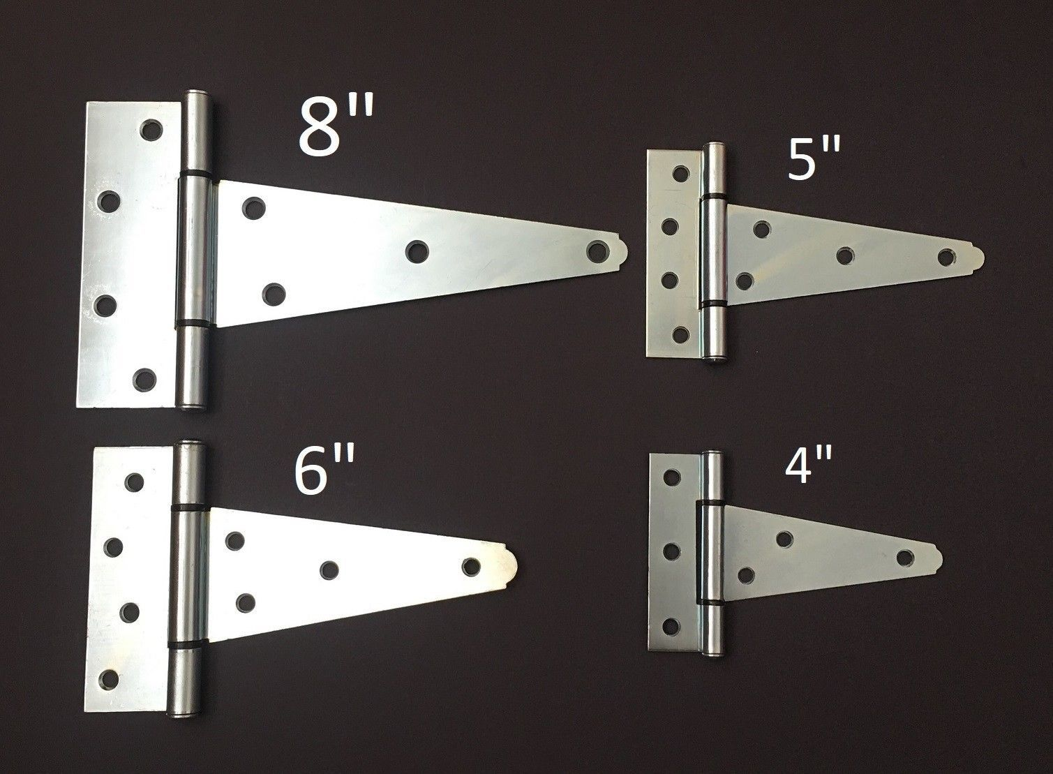Door Hinges 66739 4 5 6 8 Heavy Duty Tee T Hinges Zinc Plated For Fence Gate Barn Shed Door Buy It Now Only 29 75 On Eb Door Hinges Zinc Plating T Hinges