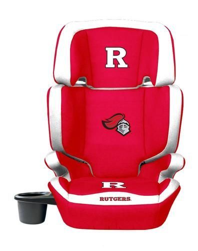 Rutgers University High Back Booster Seat