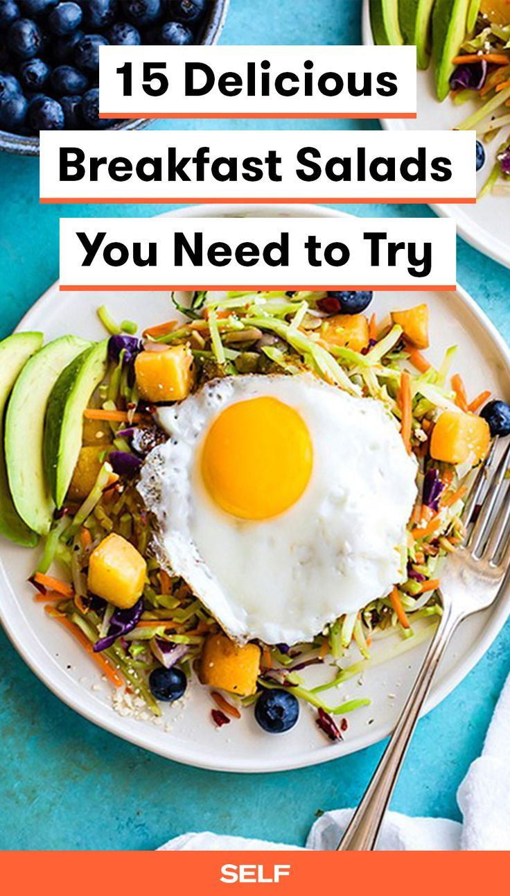 Breakfast Salads Are a Thing, and Yes, You Should Be EatingThem advise