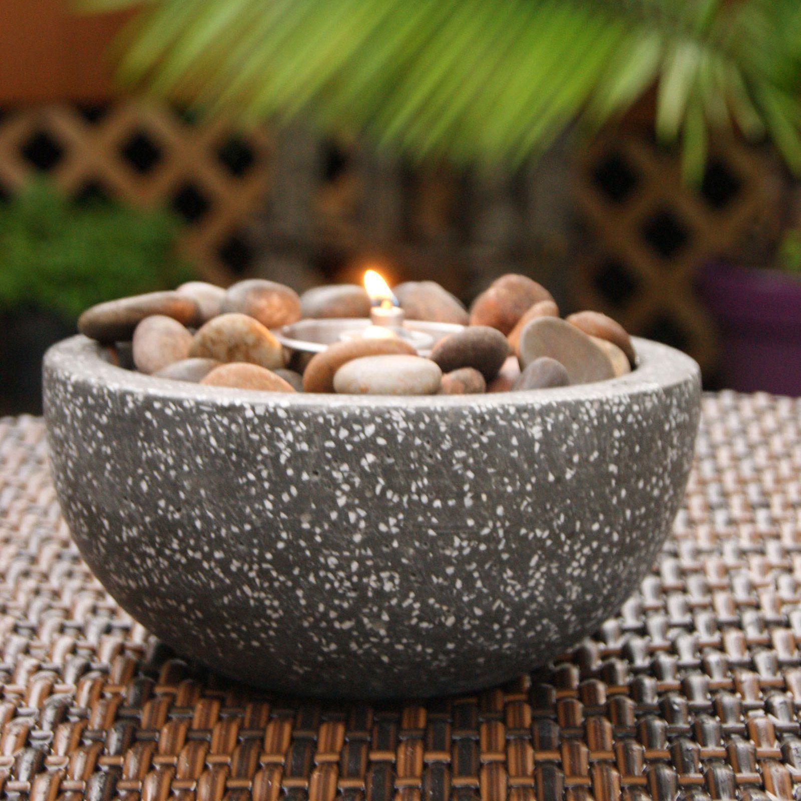 Rock Stone Fire Pot A unique alternative to traditional