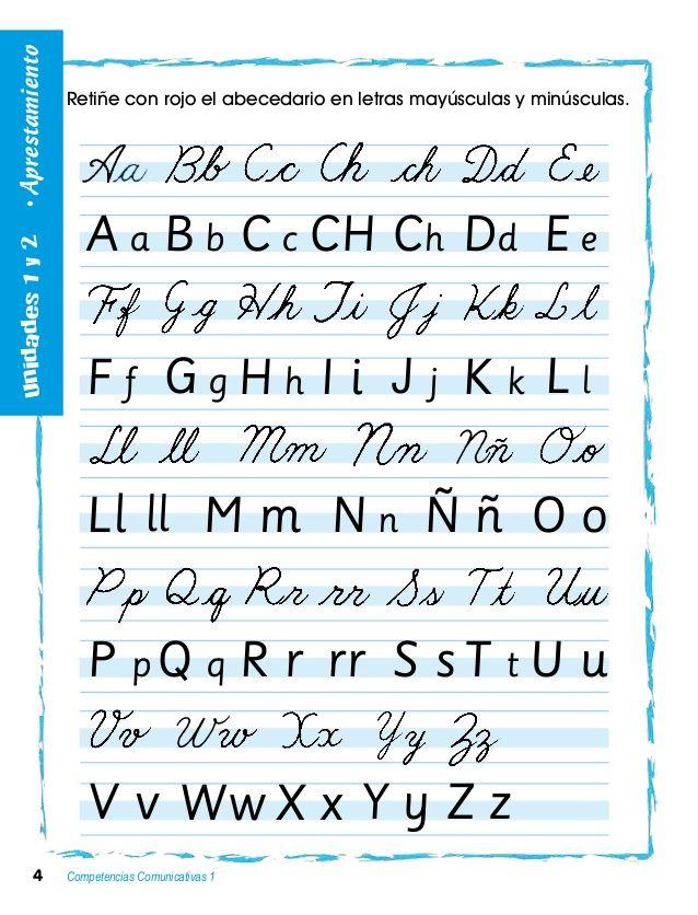 Abecedario En Cursiva Buscar Con Google Letras En Cursiva Mayuscula Abecedario En Cursiva Tipos De Letras Abecedario