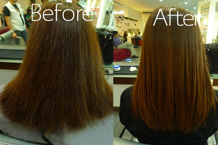 Get Gorgeous For Only Aed 299 Hair Rebonding Semi