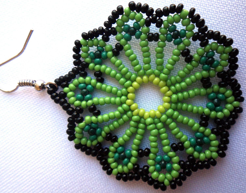 mexican huichol beaded earrings bead earrings mexicans