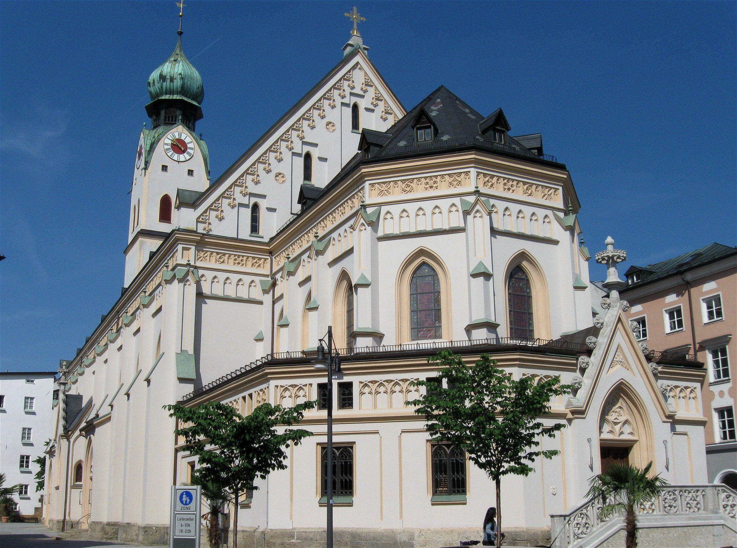 Rosenheim Baviere Rosenheim St Nikolaus Bayern