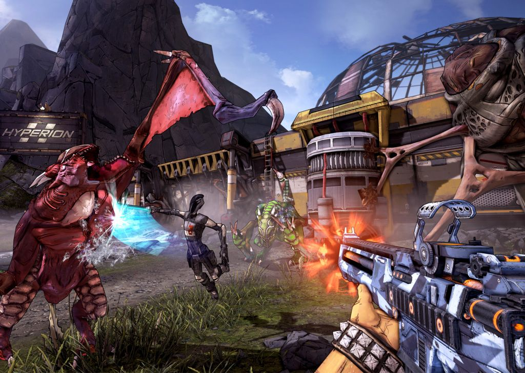 Ready-to-go Borderlands 2 PC PS4 controller setting, try it