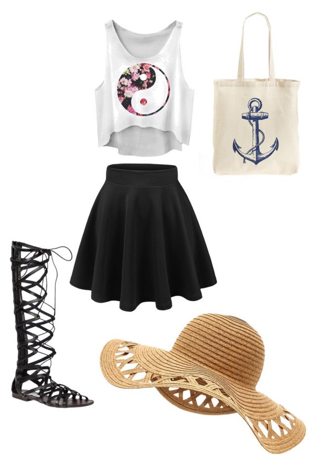 Cute Yin Yang by sydneywalker322 on Polyvore featuring polyvore, fashion,  style, Steve Madden