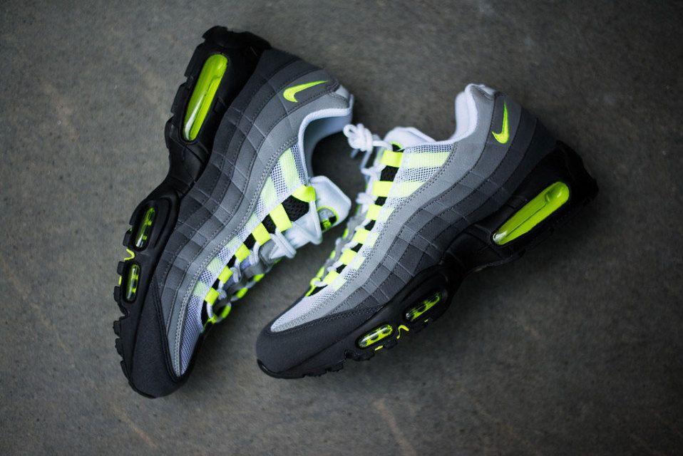 nike air max 95 jaune,Nike Air Max 95 Homme Blanche Jaune