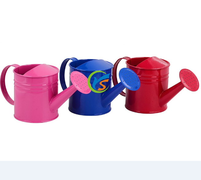 Wholesale 1l Cheap Colorful Small Galvanized Water Cans Garden