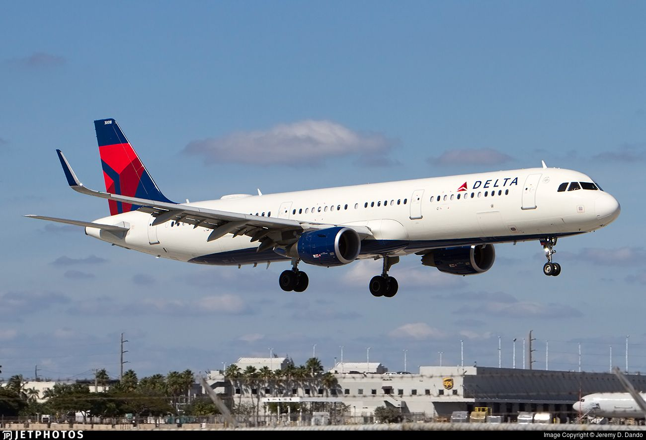 Airline Delta Air Lines Registration N308DN Aircraft