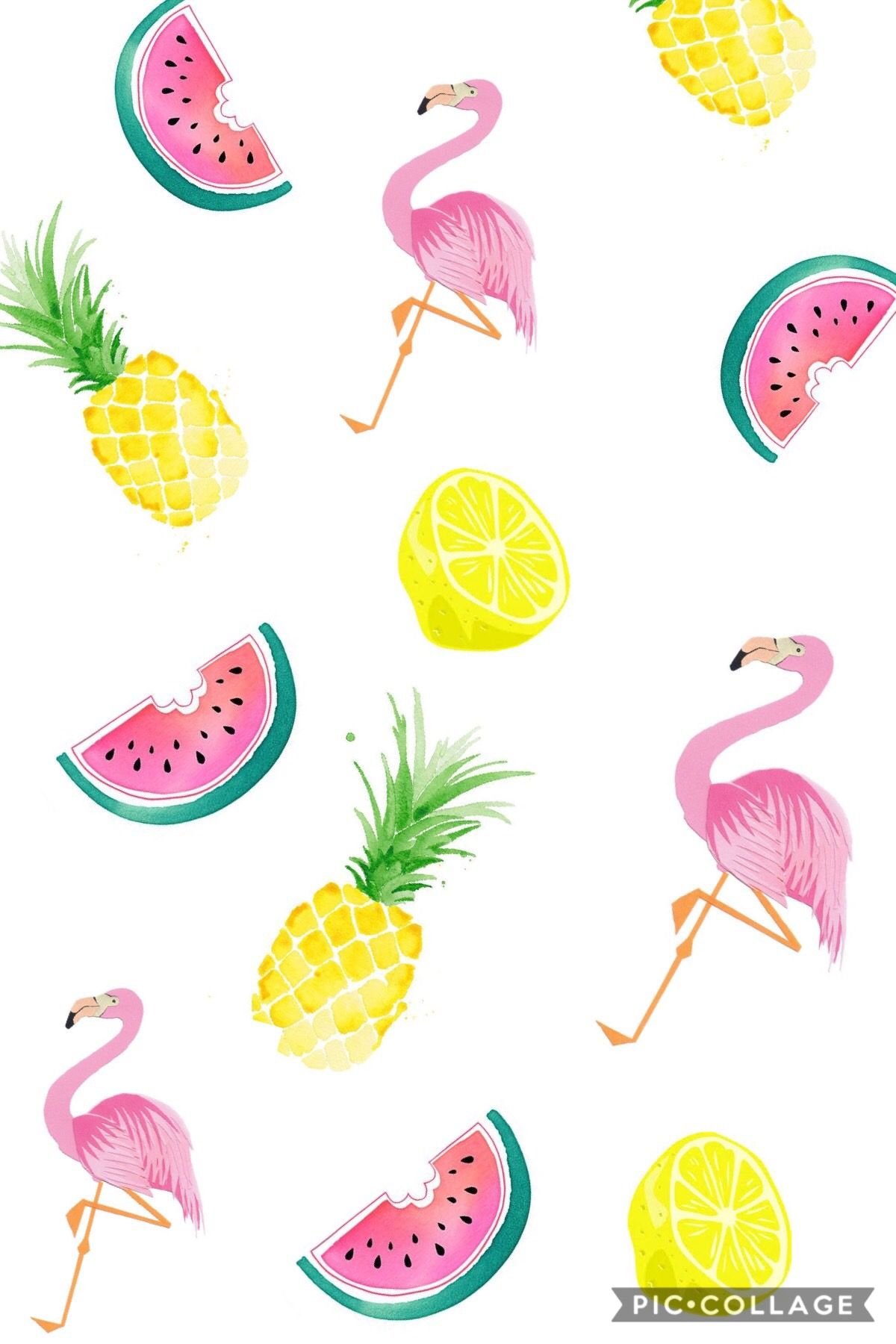 Pin By Candace Brockman On Blush N Beauty Boutique Pineapple Wallpaper Flamingo Wallpaper Summer Wallpaper