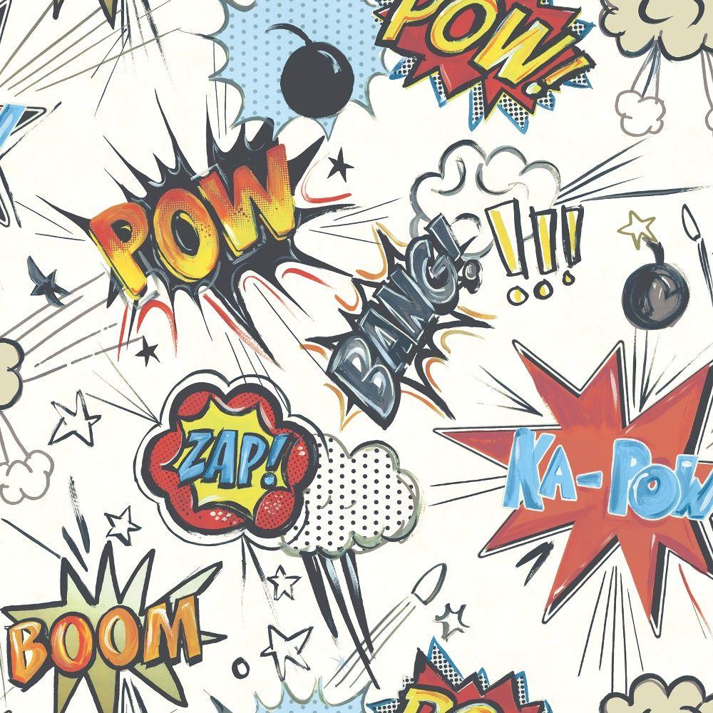 Best Rasch Rasch Ka Pow Pattern Comic Book Motif Cartoon 640 x 480