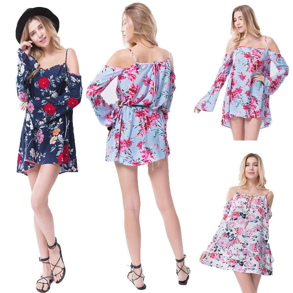 Cool great fashion women off shoulder cotton blouses sleeve