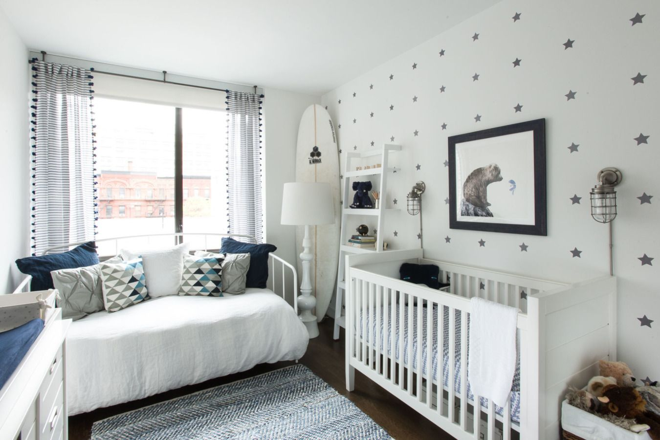 A Dreamy And Nautical Nyc Nursery