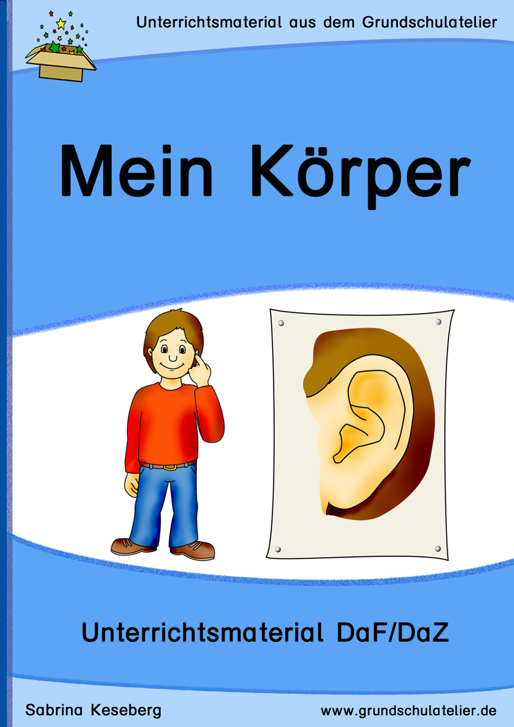 DaF/DaZ: Mein Körper | Education | Pinterest | German language ...