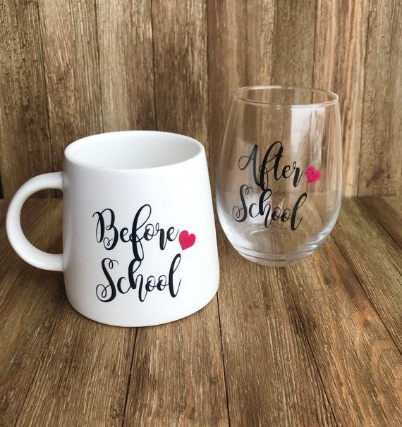 Personalized Teacher appreciation gift,Before school and