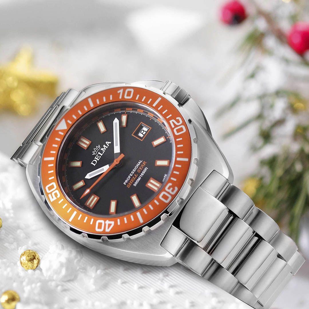Delma 41701.676.6.151 Shell Star Stainless Steel Bracelet
