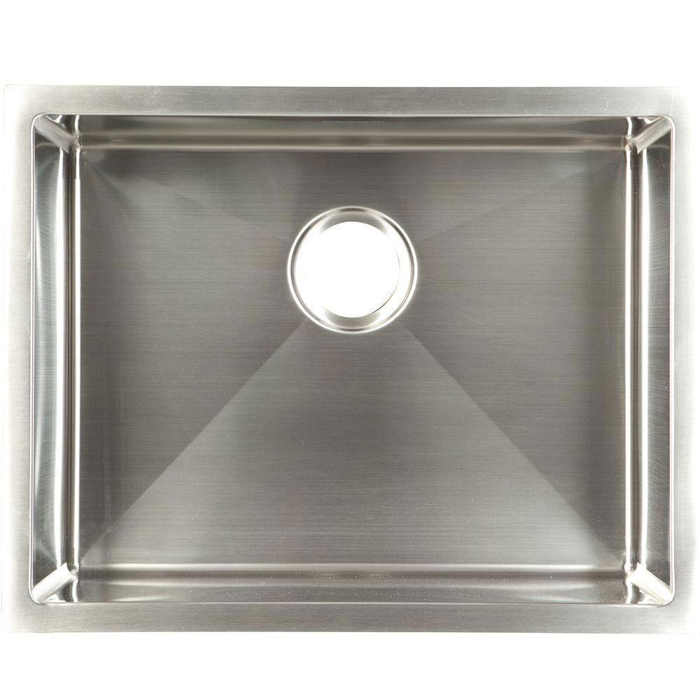 Franke Undermount Stainless Steel 23x18x10 18-Gauge Single Bowl ...