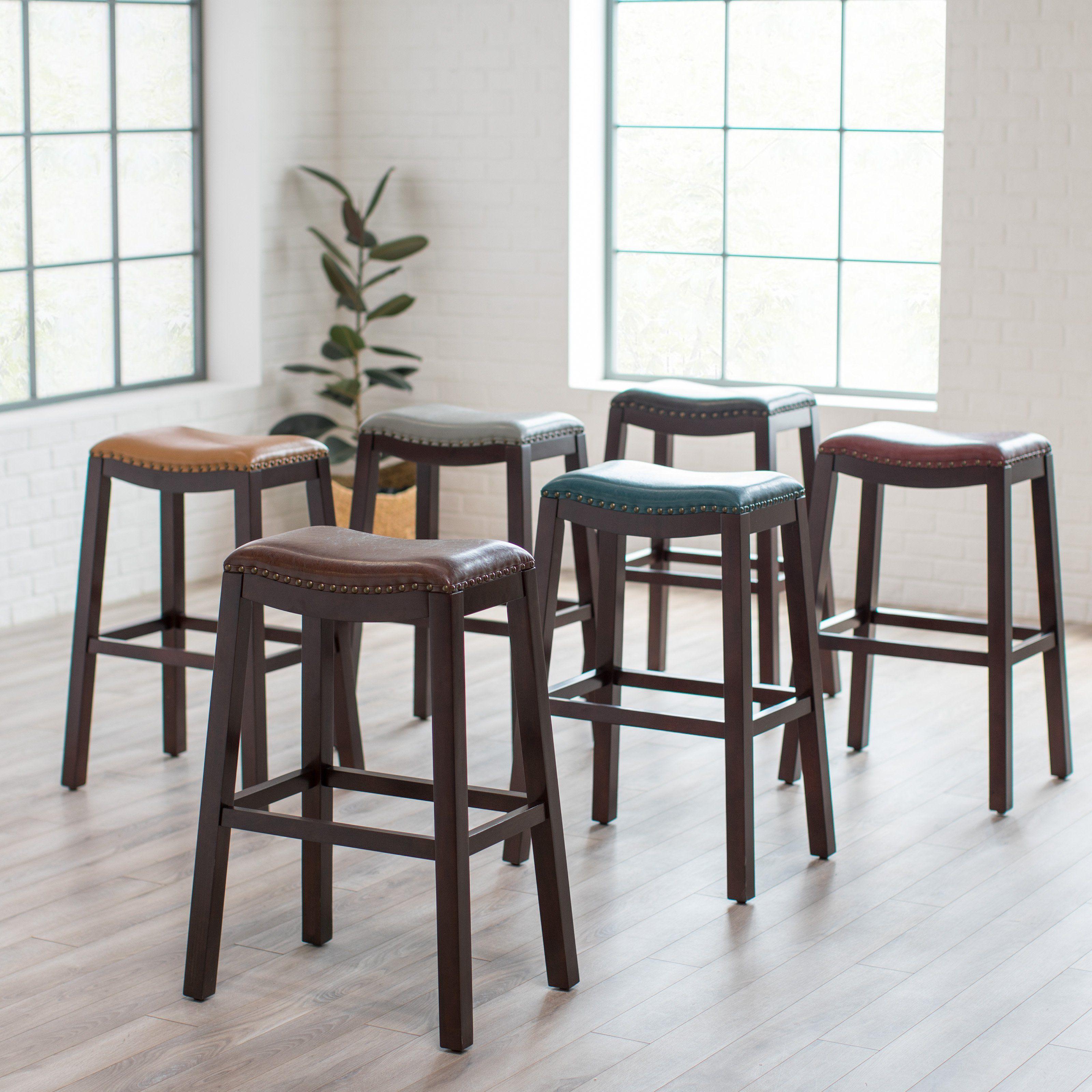 Magnificent Belham Living Hutton Backless Extra Tall Bar Stool Decor Uwap Interior Chair Design Uwaporg