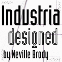 Industria by Neville Brody