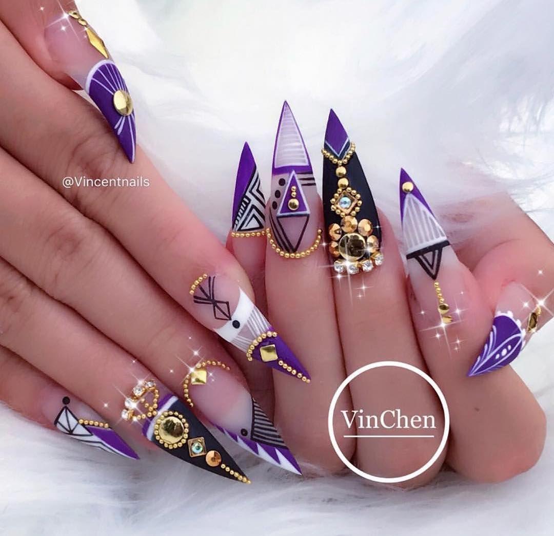 When I have nothing to post Throw back - #nails #nail art #nail ...