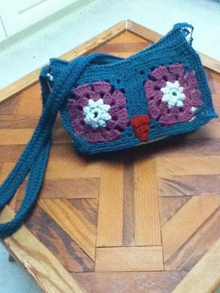 Crochet Owl Bag Free Pattern Crochet Pinterest Owl Bags Bee