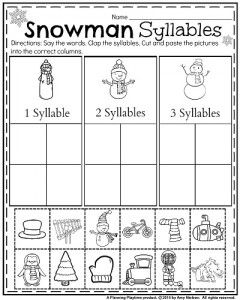1000+ images about Syllable worksheets on Pinterest | Syllable ...