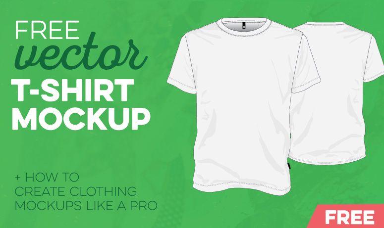 Download Free Vector T Shirt Mockup Prepress Toolkit Tshirt Mockup Shirt Mockup Mockup Template