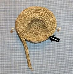 The Creative Doll: The Ease of Straw Hat Making #dollhats