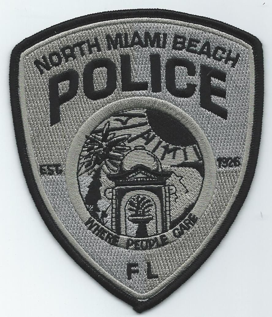 Florida city of north miami beach police patch swat