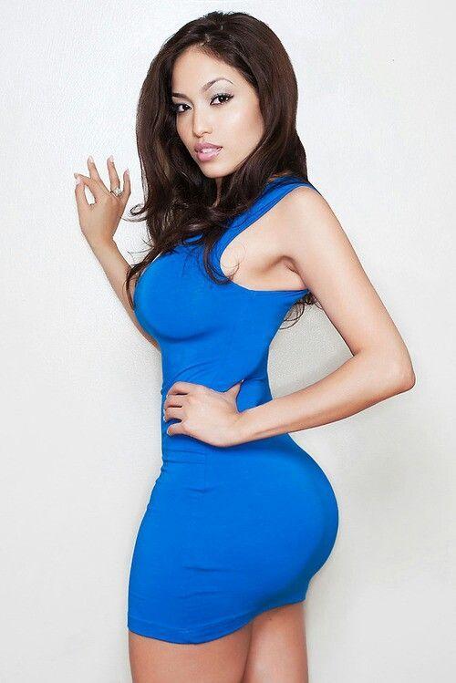 Asian ass big black booty