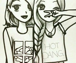 cute drawings of best friends google search art pinterest