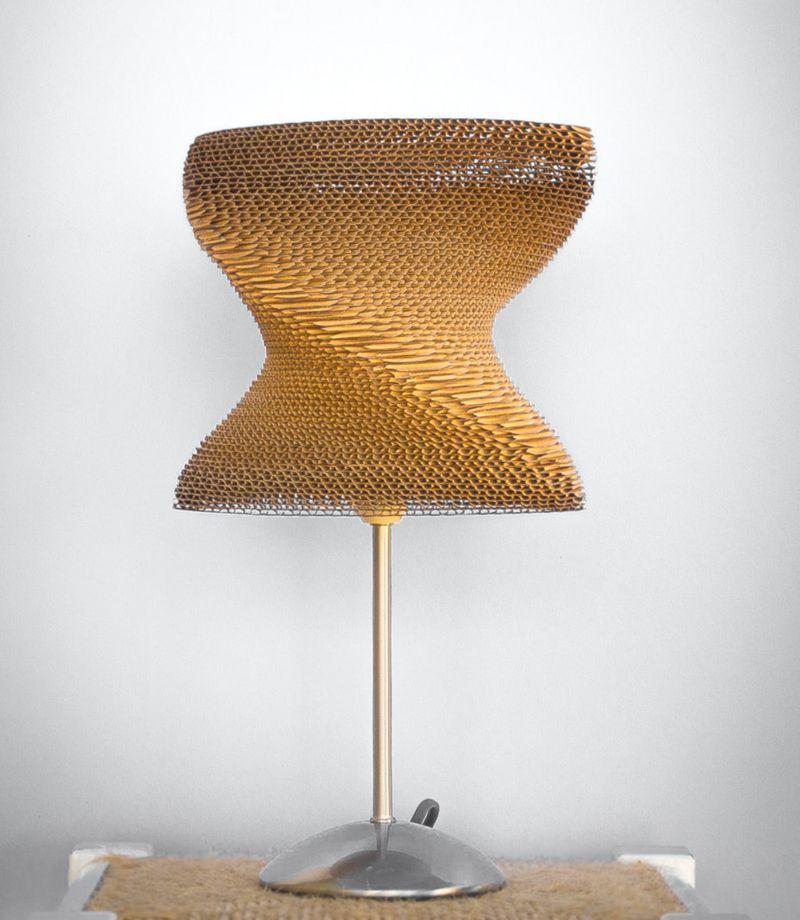 DIY 20 Creative Cardboard Lamp Ideas
