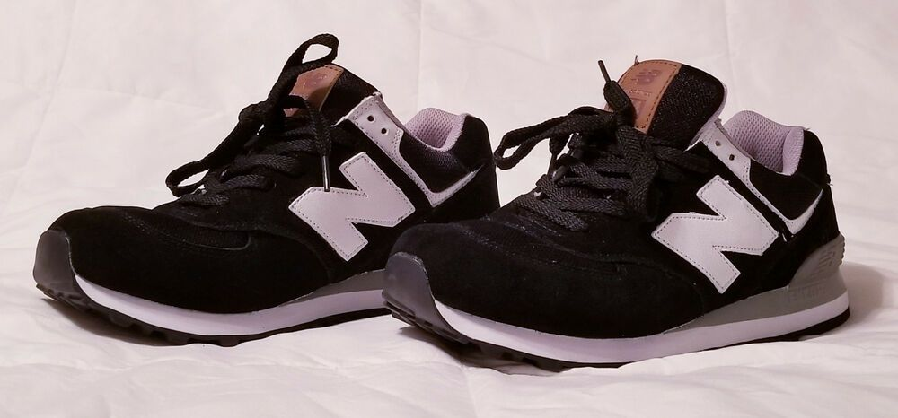 newest d4ad7 50d99 Men's New Balance 574 Classic Sneaker size 9.5 Black/Grey ...