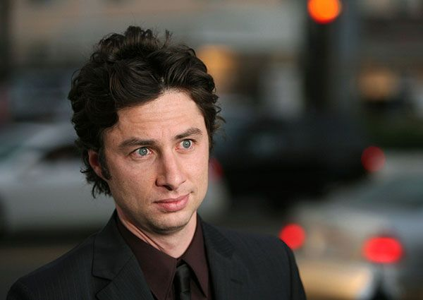Zach Braff really does have the best hair