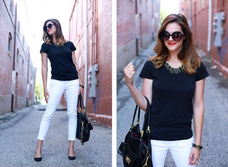 What I Wore: Black & White | Events, Work outfits and Statement ...