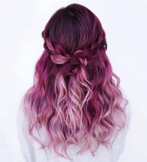 Photo of 50 Stunningly Styled Unicorn Hair Color Ideas To Stand Out From The Crowd