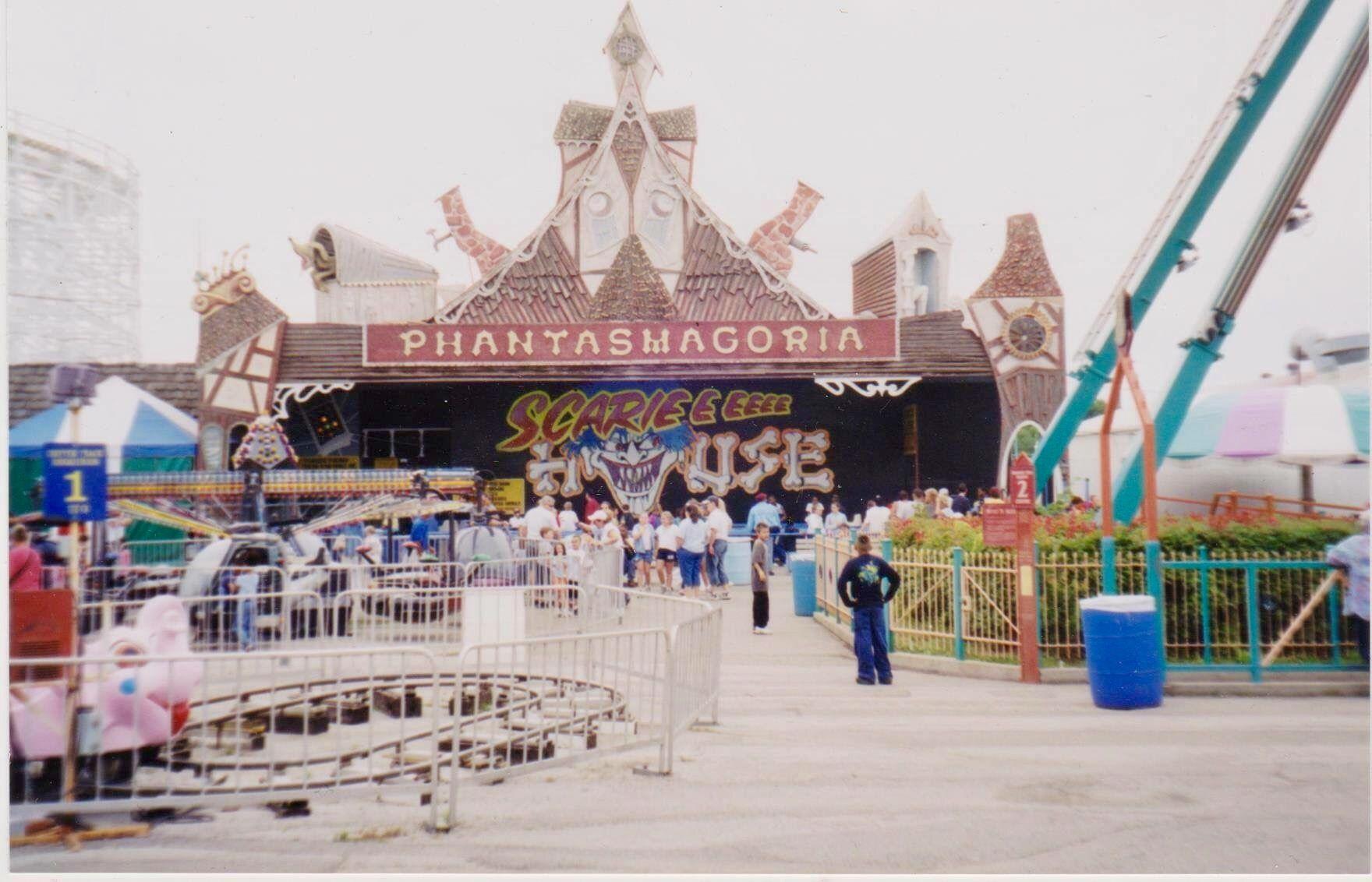 The Phantasmagoria Was A Big Attraction At Bell S Amusement Park