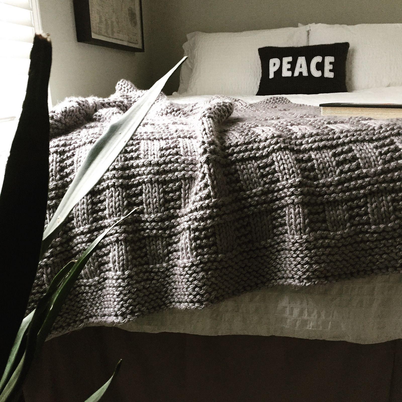 Westport Blanket pattern by Fifty Four Ten Studio | Quiero y Coser