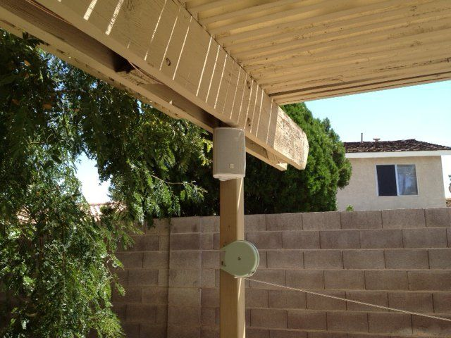 How To Install An Outdoor Patio Sound System For Less Than 100 Bucks