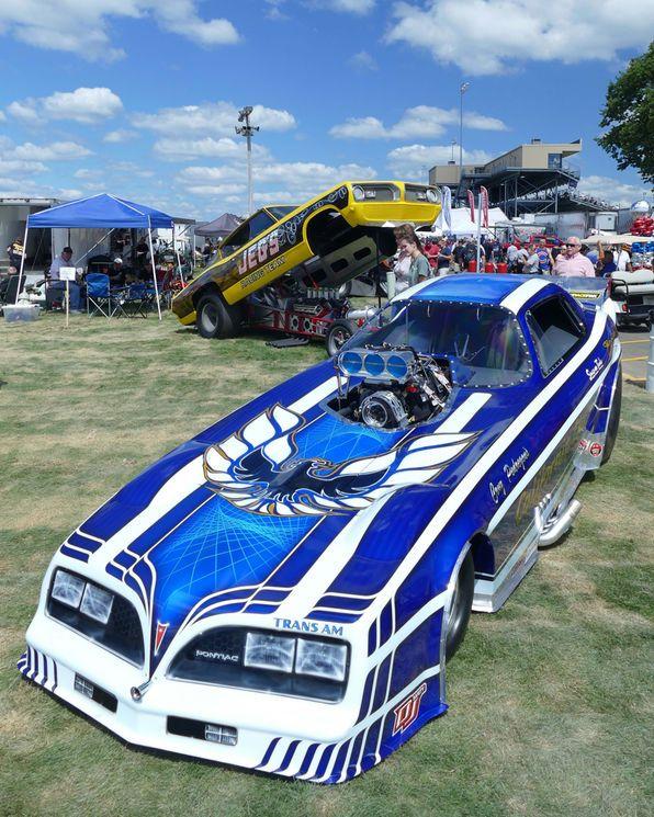 Vintage Funny Car Cacklefest At The 2016 U S Nationals In 2020