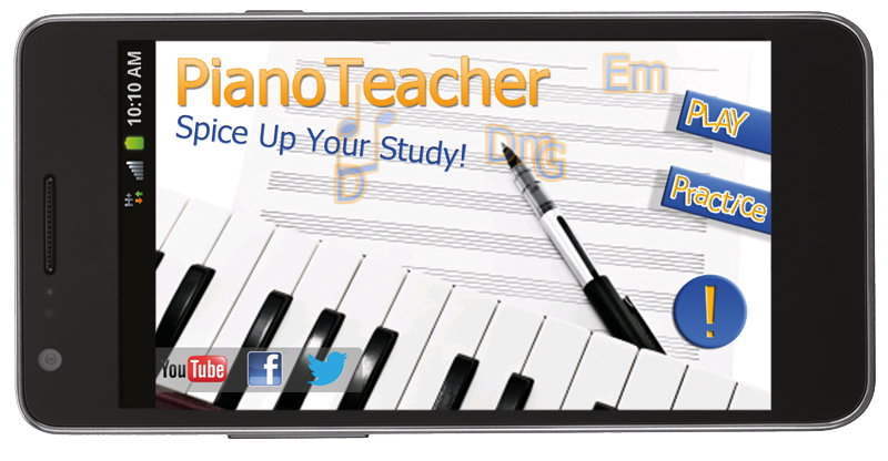 PianoTeacher app for android users Learn piano chords