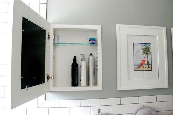 Make Over Your Bath With A Diy Medicine Cabinet Bathroom Storage