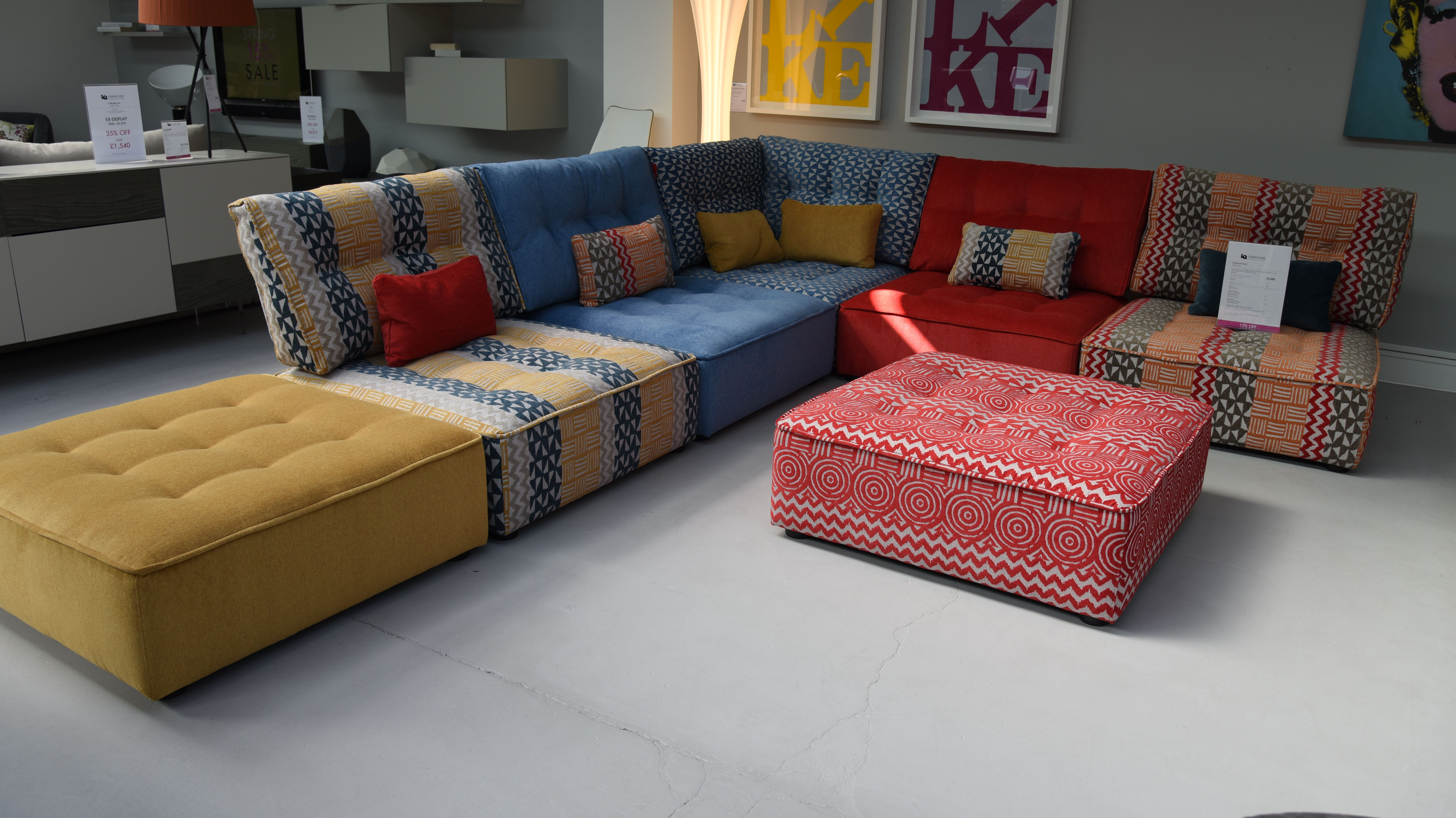 Arianne Love Sofa Is A Colourful Seating Design Helping Spring Any Room To Life With Bright And Vibrant Colours Canape Cosy Canape