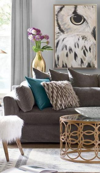 Owl Wall Art Home Decor Idea Affiliate Owls Living Room Decoration Ideas