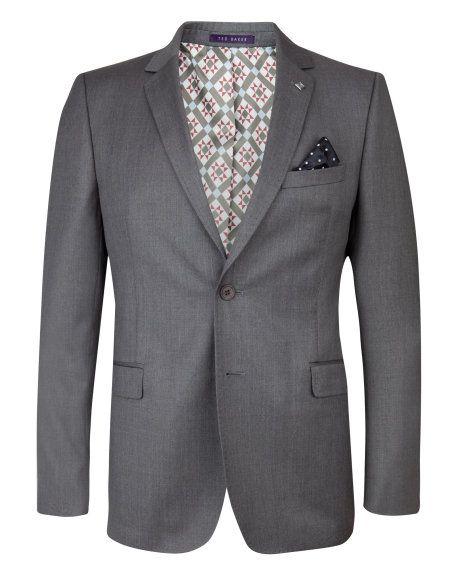f84953c725c0 DECJAC - Wool blazer - Grey
