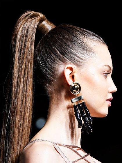 Der Power Ponytail Wird Die It Frisur 2016 Look High Ponytail