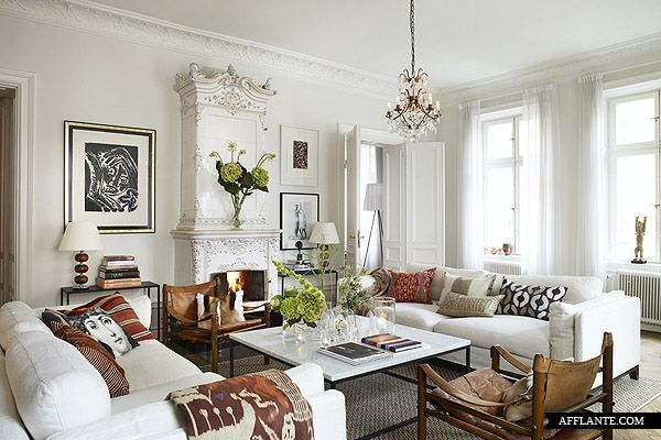 lovely scandinavian style apartment in stockholm